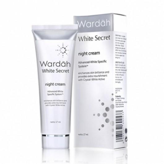 Wardah White Secret Night Cream 17gr