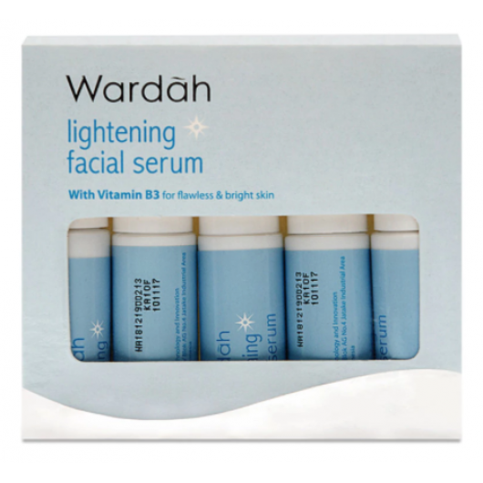 Wardah Lightening Facial Serum 5x5 ml